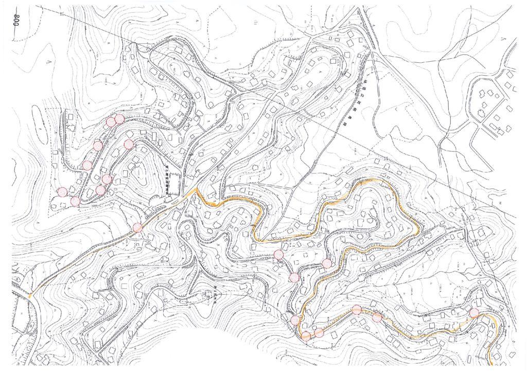 学者村3期施工箇所図のサムネイル